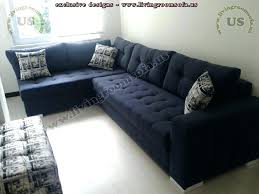 navy blue sectional sofa. Blue Leather Sectional Sofa Royal Couch Modern Navy L Shaped Design