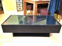 display top coffee table coffee table with glass display case coffee table with glass display top