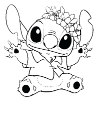 Stitch Coloring Pages Lilo And Stitch Coloring Pages Picture Cross