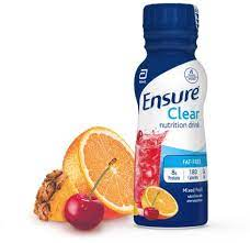 ensure clear nutrition mixed fruit