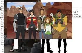 Voltron Legendary Defender Height Chart Height Charts I Made 1 I Put The Pic Of Shiro