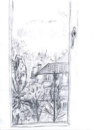 window view drawing. image window view drawing