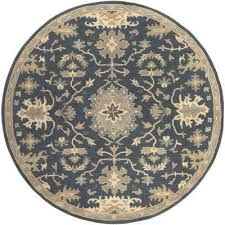 gilh navy 6 ft x 6 ft round indoor area rug gilh navy