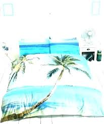 bedrooms ideas tropical duvet cover comforter sets ng palm tree quilts covers small size of ikea king grusblad