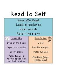 Reading To Self T Chart