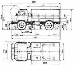 Реферат Газ ru Габаритные размеры ГАЗ 66