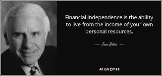 Financial Quotes Magnificent TOP 48 FINANCIAL INDEPENDENCE QUOTES AZ Quotes