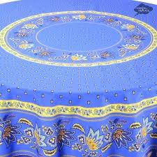 french country tablecloth french country tablecloth round blue cotton acrylic coated french country tablecloth i dream