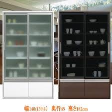 width 140 cm eno white seismic design drawer amp sliding door type kitchen