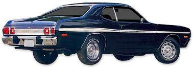 Advance auto sells dodge auto parts online and in local stores all over the country. Amazon Com Dart Phoenix Graphix Replacement For 1974 Dodge Sport Sides Tail Panel Complete Decals Stripes Kit White Automotive