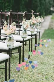 Wedding Ceremony Aisle Decorations Diy