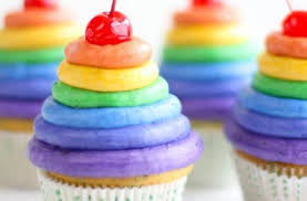 rainbow cupcakes wallpaper.  Wallpaper SprinkleBakes Roy G Biv Rainbow Cupcakes Intended Wallpaper