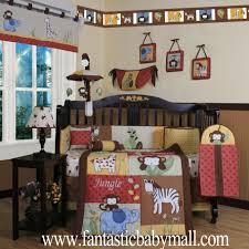 nursery bedding set boutique jungle animals 13pcs crib