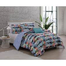 bellamy 5 piece multi colored queen comforter set