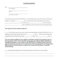 Eviction Form Day Ce To Move Out Vacate Free Forms Template