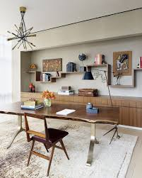 dining room home office. View In Gallery Breezy Home Office Of NYC Residence Keeps Things Simple And Uncluttered [Design: Amy Lau Dining Room E