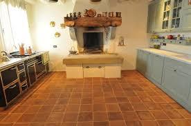 Terracotta Floors mediterranean-kitchen