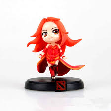 dota 2 game 3d wow cute lina game collection mini q model action