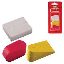 Купить <b>Набор ластиков KOH</b>-I-<b>NOOR</b> 3 шт., цвет и форма ...