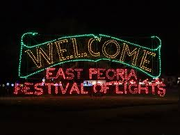 Festival Of Lights 2017 Peoria Il Festival Of Lights East Peoria Il Get Out And Travel