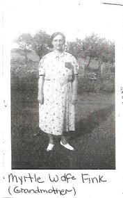 Myrtle Blanche Wolfe Fink (1889-1961) - Find A Grave Memorial