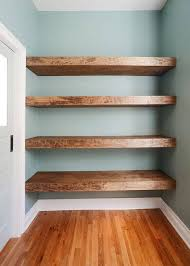 16 Deep Floating Shelves Cool Pin By Vicki Gyland Nowak On For The Home Pinterest Reclaimed