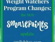 Weight Watchers Weekly Points Allowance Chart New Weight Watchers Freestyle Program Emily Bites