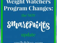 new weight watchers smartpoints program