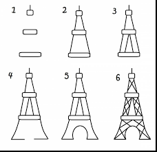 Small Picture Beautiful eiffel tower template with eiffel tower coloring page