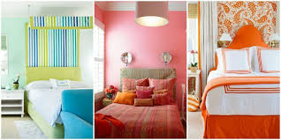 Nice Paint Designs For Bedroom Prepossessing Home Ideas Gallery Colorful Bedrooms  Index