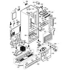 lg refrigerator parts diagram. case parts lg refrigerator diagram l