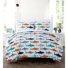 shark bedding set home shark bed in a bag set shark comforter set queen shark bedding set