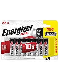 Щелочные <b>батарейки Energizer</b> MAX типа <b>АА</b>, 12 шт. <b>Energizer</b> ...