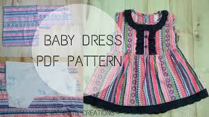 Free Baby Dress Patterns Magnificent Baby Dress Pattern Free Download DressCrafts