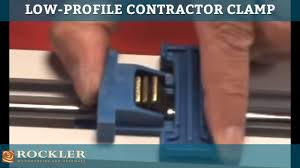 rockler s all in one low profile contractor clamp technical support