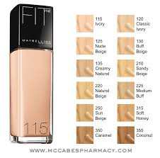 Maybelline Skin Tone Chart Maybelline Fit Me Foundation I Use 122 And Its Perfect