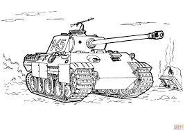 Kleurplaten Oorlog Tank