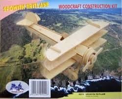"""Сборная <b>деревянная модель</b> """"Триплан"""""""
