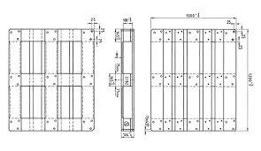 euro pallet dimensions. technische zeichnung europalette eur3 1000x1200 mm euro pallet dimensions e