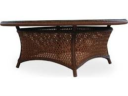 lloyd flanders grand traverse wicker 42 round table
