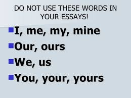 the never list 7 do not use these words in your essays