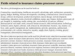 Claims Processor Sample Resume Extraordinary Job Description For Claims Adjuster Claims Adjuster Resume Claims
