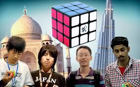 Asian rubics cube champion