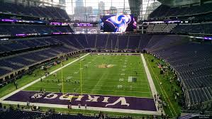 Us Bank Seating Chart Vikings Minnesota Vikings Seating Guide U S Bank Stadium