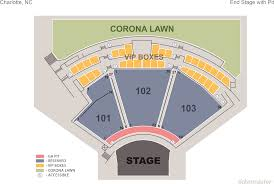 Charlotte Metro Credit Union Amphitheater Seating Chart