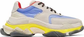 Balenciaga Size Chart Shoes Balenciaga Triple S Trainers