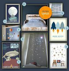 outer space nursery kids room decorating idea outer space outer space nursery decor