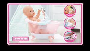 learn more about the baby born al foaming bathtub