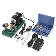 home garden power tools drillpro 110v 200w dc 24v mini lathe beads machine polish woodworking diy tools set monde ping spree