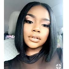 Sew In Bob With Closure Middle Part